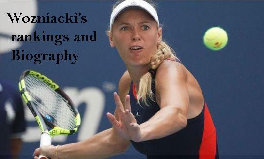 Caroline Wozniacki rankings