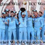 ICC World Cup winners 2019
