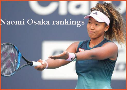 Naomi Osaka ranking