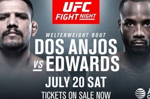 UFC: Rafael dos Anjos vs Leon Edwards Live Stream