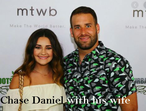 Chase Daniel wife