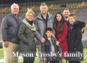 Mason Crosby family