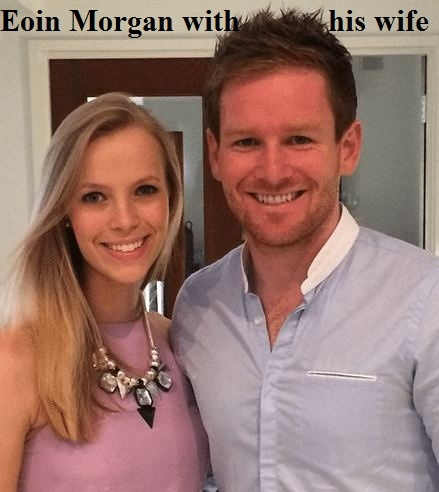 Eoin Morgan's wife