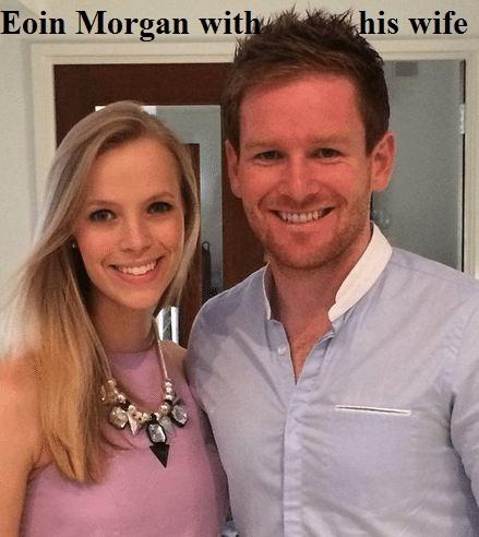 Eoin Morgan's wife