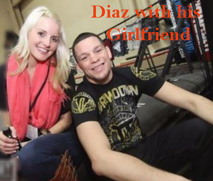 Nate Diaz girlfriend