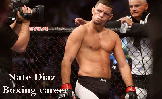 Nate Diaz Boxer, wife, net worth, salary, height, age, family and more
