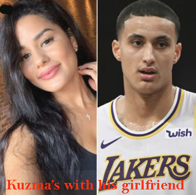 Kyle Kuzma's girlfriend