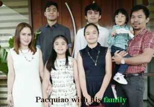Manny Pacquiao family