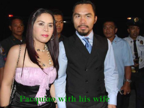 Manny Pacquiao wife