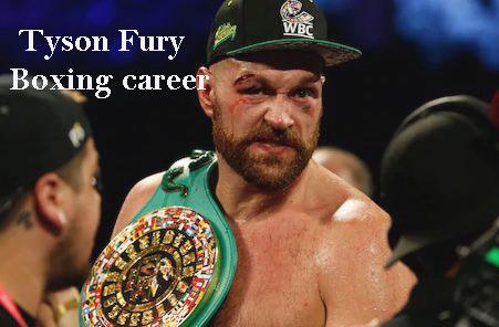 Tyson Fury record