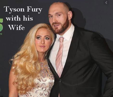 Tyson Fury wife