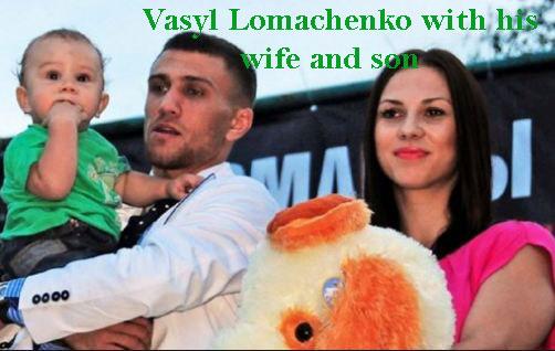 Vasyl Lomachenko wife
