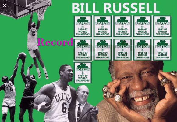 bill russell finals record