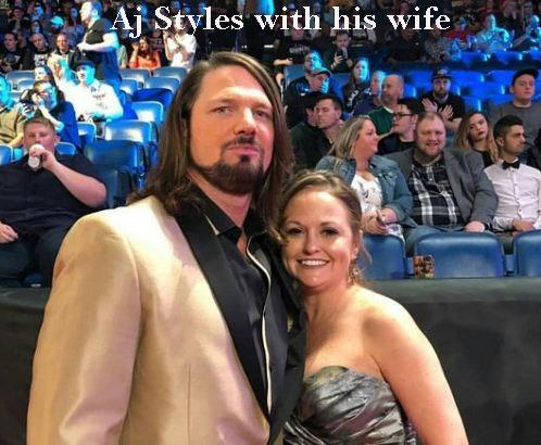AJ Styles wife
