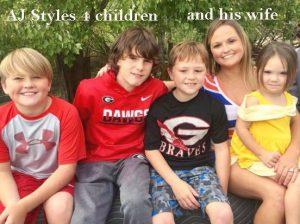 Aj Styles children