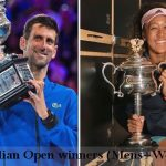 Australian Open Winners