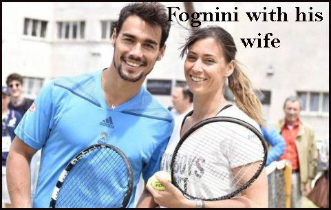 Fabio Fognini wife