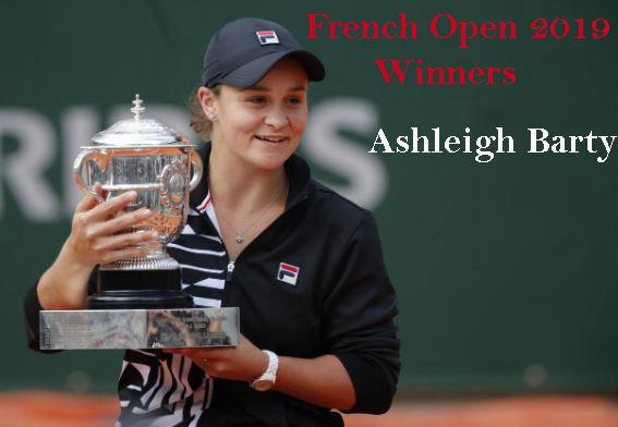 French open women's winner 2019
