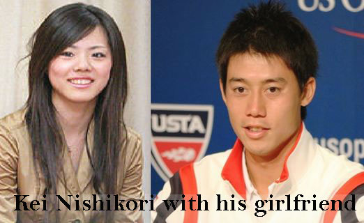 Kei Nishikori's girlfriend