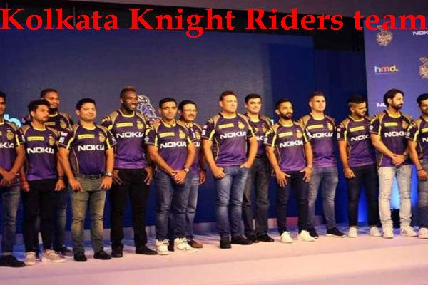 Kolkata Knight Riders roster 2020, squad, players, jersey
