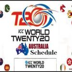 T20 World Cup 2020 schedule