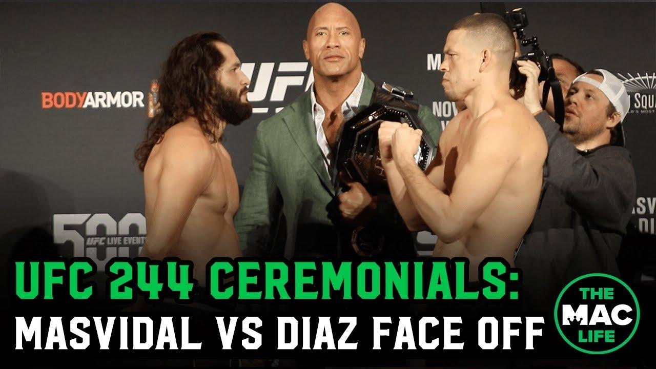 UFC 244: JORGE MASVIDAL VS NATE DIAZ
