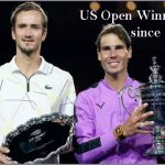 US Open Winners