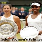 Wimbledon Women's Winners