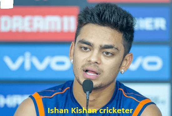 Ishan Kishan Cricketer, batting, IPL, wife, family, age, height