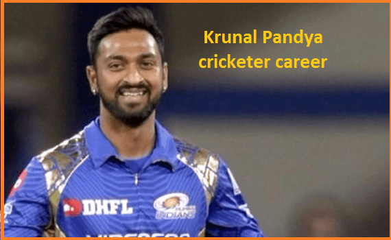 Krunal Pandya Cricketer, IPL, wife, family, age, height