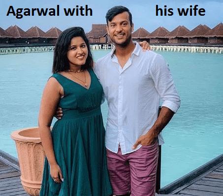 Mayank Agarwal's wife