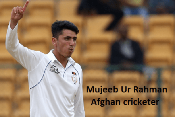 Mujeeb Ur Rahman Cricketer, bowling, IPL, wife, family, age and height