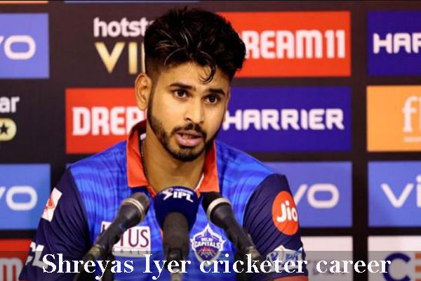 Shreyas Iyer Cricketer, IPL, wife, family, age, height and more