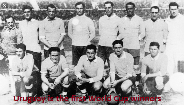 Who won the first World Cup football