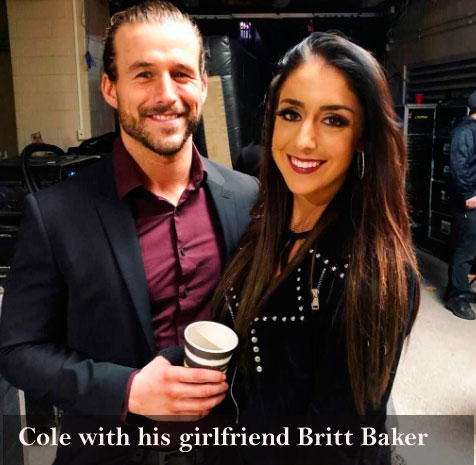 Adam Cole's girlfriend