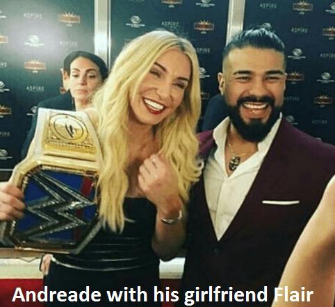 Andrade Cien Almas girlfriend