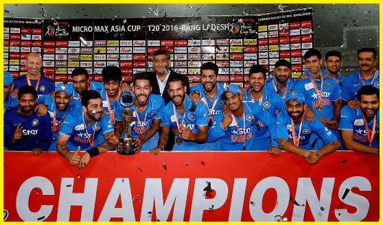 Asia cup winners