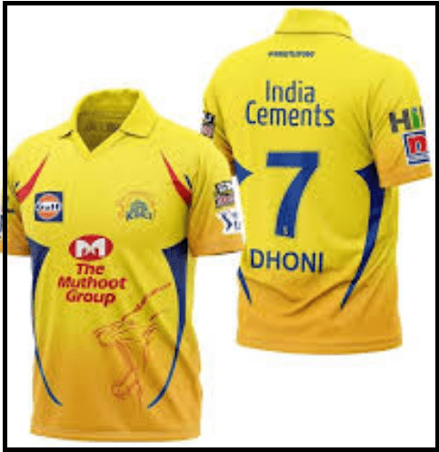 Chennai Super Kings jersey