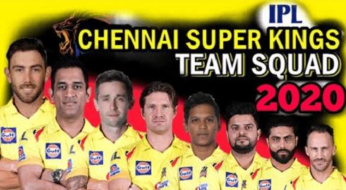 Chennai Super Kings players 2020