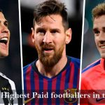 Current highest paid footballers in the world