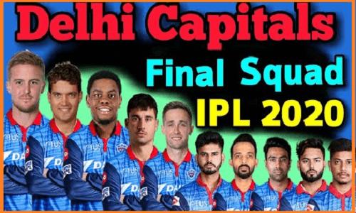 Delhi Capitals 2020 players list