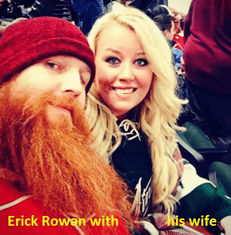 Erick Rowan wife