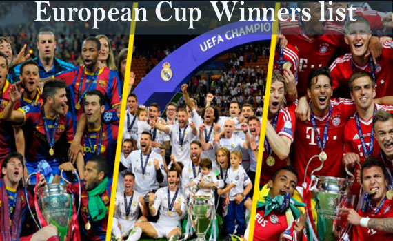 european cup winners list uefa champions league winners european cup winners list uefa