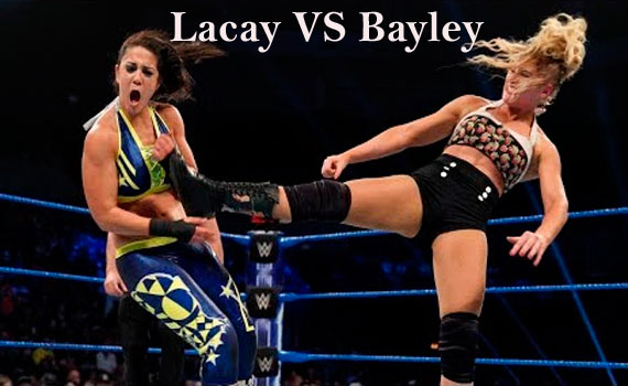Lacey Evans vs. Bayley WWE Smackdown results