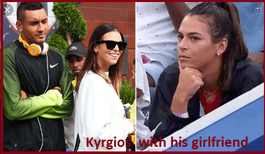 Nick Kyrgios girlfriend