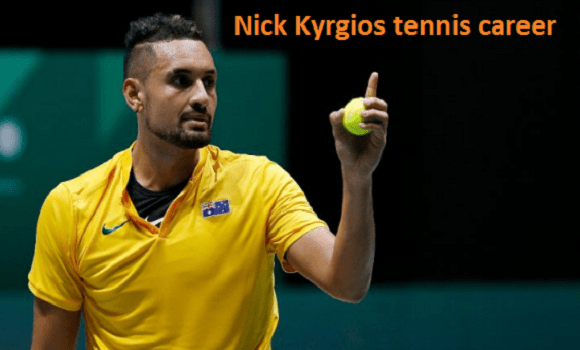 Nick Kyrgios tennis player, wife, ranking, net worth, age, height, family