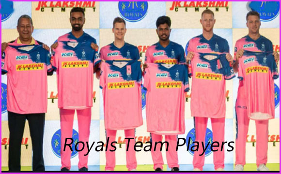 Rajasthan Royals Players, Jersey,Owner and Player Salary List