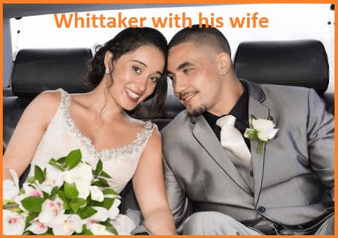 Robert Whittaker wife