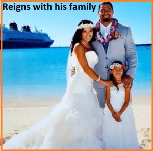 Roman Reigns family
