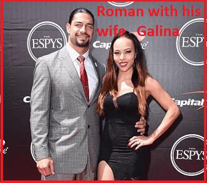 Roman Reigns wife